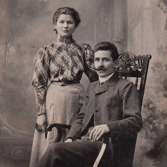 old Bulgarian family picture
